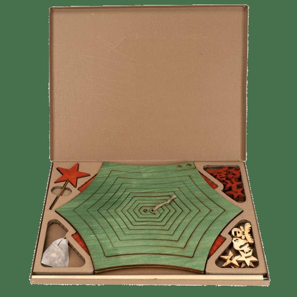 Weihnachtsbaum - kunststofffreie Verpackung