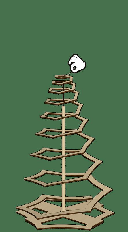 Weihnachtsbaum Zusammenbau Schritt 3.1