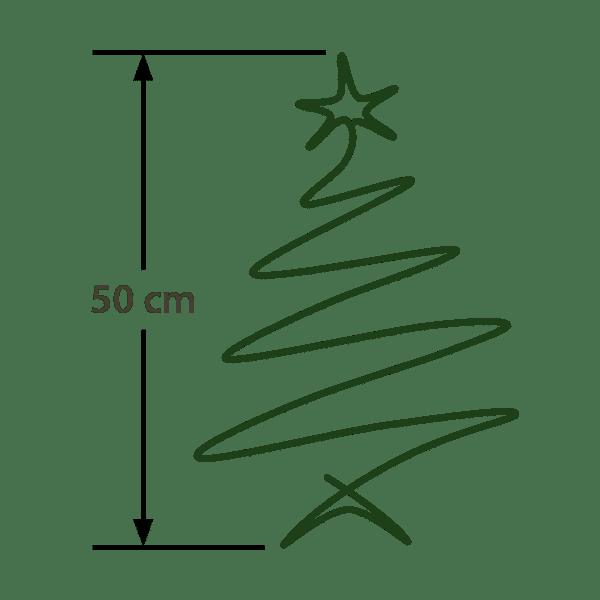 Baumgröße: 50cm